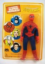 Mego World\'s Greatest Super-Heroes - Spider-Man - neuf sous blister Pin Pin Toys 01