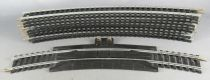 Mehano Ho 10 Curves R 18° Steel Tracks includes Supply & Rerailer one