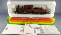 Mehano T065 Ho Usa PPR Steam Locomotive 0-4-0 N°16 with Light Boxed