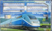 Mehano T681 Ho Sncf Speed Train Duplex Tgv N° 235 Very Good Condition withBox