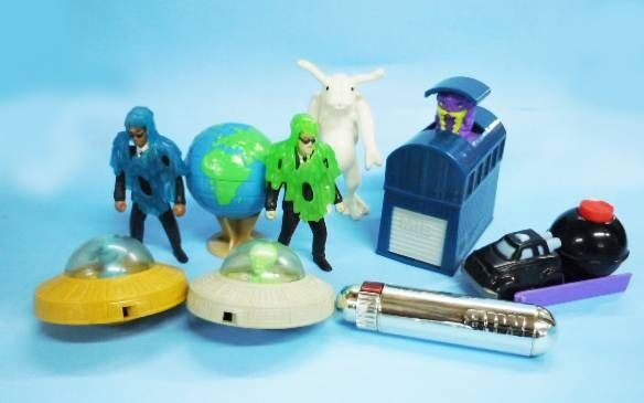 Men in Black (MIB) - Burger King -  Set de 8 jouets prémium Kids Club