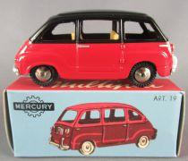 Mercury Hachette N°19 Fiat 600 Multipla Rouge & Noir Neuve en Boite