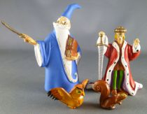 Merlin l\'Enchanteur - Figurine plastique Jim - Merlin Arthur Archimede Ecureuil