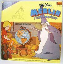 Merlin l\'Enchanteur - Livre-Disque 33T - Disques Ades 1982 01