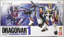Metal Armor Dragonar - Bandai Soul of Chogokin XS-06 Dragonar-1 with Cavalier