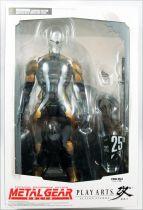 Metal Gear Solid - Cyborg Ninja - Figurine Play Arts Kai - Square Enix