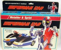 Metalder\'s Sidephantom \'\'Superman Car\'\' cycle