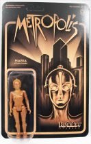 Metropolis - Super7 ReAction Figure - Maria (gold)