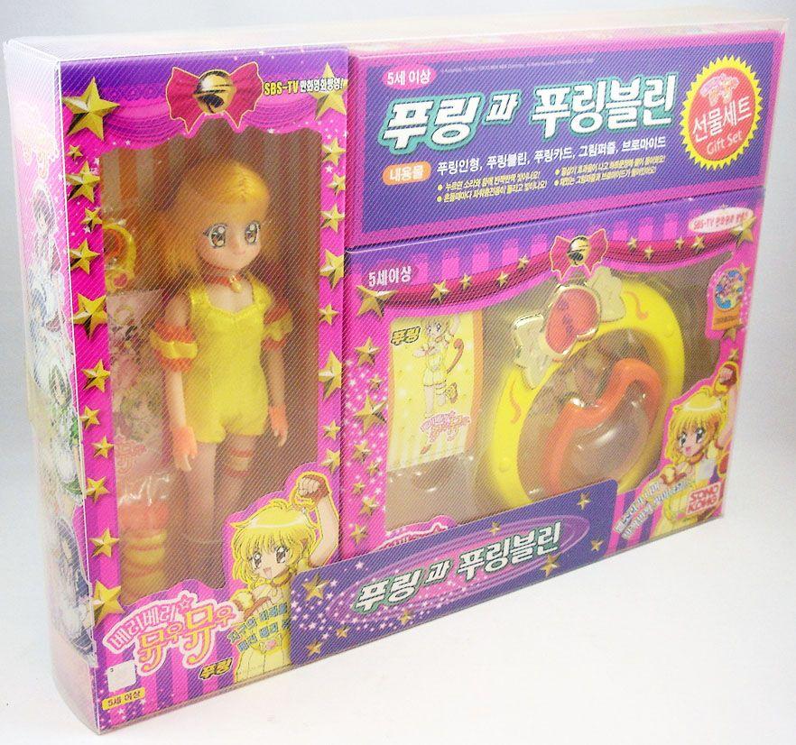 Mew Mew Power - Gift set Kikki Benjamin poupée 25cm & Tambourins d\'Or (2)