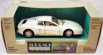 Miami Vice - Burago - Ferrari Testarossa