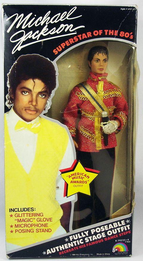 Michael Jackson - American Music Awards - 12\'\' Collectible Doll - LJN 1984