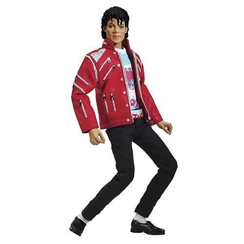 Michael Jackson - Beat It - 12\\\'\\\' Collectible Doll - Playmates / Bandai 2011