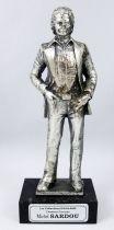 """Michel Sardou - 6\"""" die-cast métal statue - Daviland France 1978"""