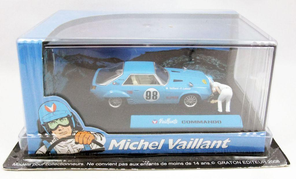 Michel Vaillant - Jean Graton Editeur - Vaillante Commando Diecast Vehicle - Scale 1:43 (Mint in Box)