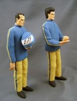 Michel Vaillant - Prototype Editions Atlas - Vaillante Rush (43cm) + 2 Personnages (23cm) 10