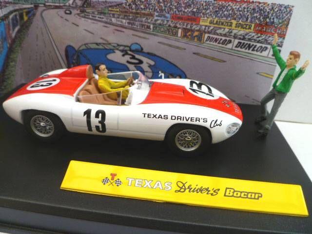 Michel Vaillant Jean Graton Editeur Texas Driver\'s Bocar Véhicule en Métal Echelle 1/43 (Neuve en Boite)