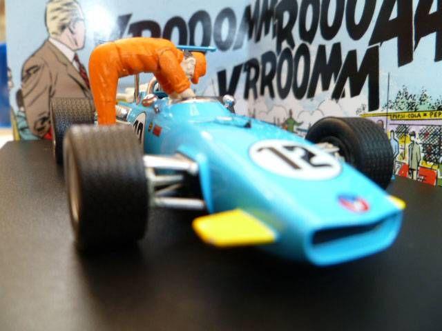 Michel Vaillant Jean Graton Editeur Vaillante F1-1970 Véhicule en Métal Echelle 1/43 (Neuve en Boite)