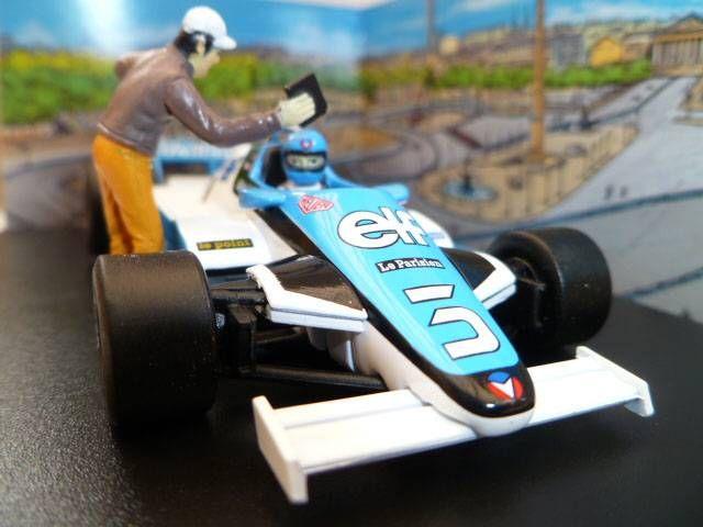 Michel Vaillant Jean Graton Editeur Vaillante F1-1982 Turbo Véhicule en Métal Echelle 1/43 (Neuve en Boite)