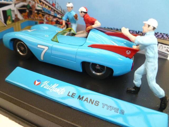 Michel Vaillant Jean Graton Editeur Vaillante Le Mans Type 2 Véhicule en Métal Echelle 1/43 (Neuve en Boite)