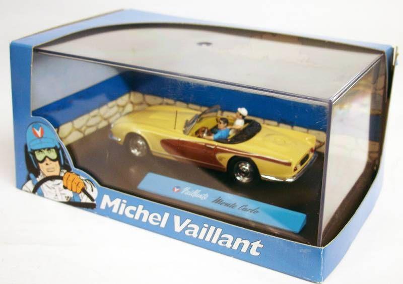 Michel Vaillant Jean Graton Editeur Vaillante Monte Carlo Véhicule en Métal Echelle 1/43 (Neuve en Boite)