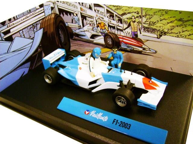 Michel Vaillant Jean Graton Editor Vaillante F1-2003 Diecast Vehicle - Scale 1:43 (Mint in Box)