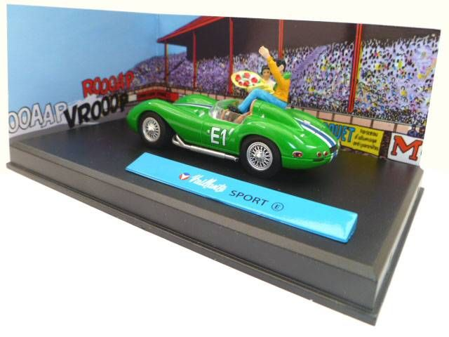 Michel Vaillant Jean Graton Editor Vaillante Sport (E) Diecast Vehicle - Scale 1:43 (Mint in Box)