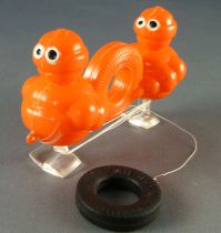 Michelin - Figurine Publicitaire Bibendum Ramp Walker Orange