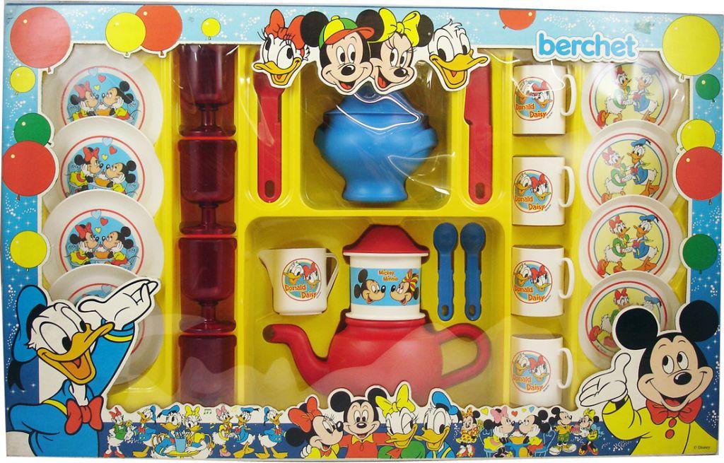 Mickey Friends Donald Daisy Duck Tea Party Set Berchet
