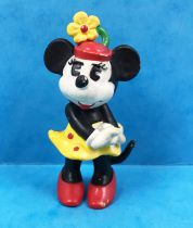 """Mickey and friends - Bully 1984 PVC Figure - \""""Classic\"""" Minnie Mouse"""