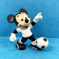 Mickey and friends - Bully PVC Figure - Mickey Soccer Player (White T-Shirt)