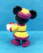 Mickey and friends - Bully PVC Figure - Minnie and the Christmas Gift