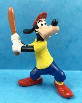 Mickey and friends - Bullyland 1998 PVC Figure - Goofy Baseball batter