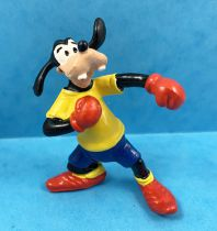 Mickey and friends - Bullyland 1998 PVC Figure - Goofy Boxer