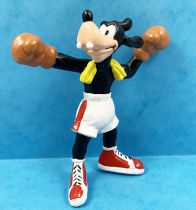 Mickey and friends - Bullyland 1998 Winnig Team PVC Figure - Goofy Boxer
