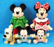 Mickey and friends - Disney Family Simba Toys - Mickey and Minnie family