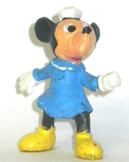Mickey and friends - Jim Plastic Figure - Minnie\'s cousin