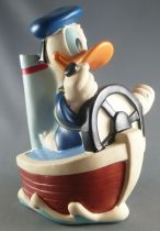 Mickey and friends - Just Toys Vinyl Bank - Donald Duck in Boat