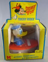 Mickey and friends - Kohner N° 298 Tricky Rider Vehicle - Donald\'s boat Mint in Box