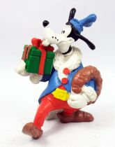 Mickey and friends - M+B Maia Borges PVC Figure 1982 - Christmas Season Goofy