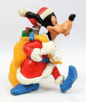 Mickey and friends - M+B Maia Borges PVC Figure 1983 - Christmas Season Goofy