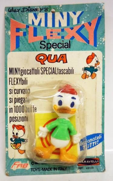 Mickey and friends - Mini-Flexy (FAB / Baravelli) 1969 - Louie