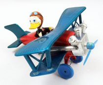 Mickey and friends - Polistil Die-cast Vehicle - Donald Duck\'s Plane (loose)