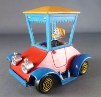 Mickey and friends - Polistil Die-cast Vehicle - Grandma Duck Without Box