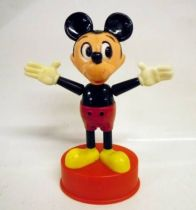 Mickey and friends - Push-Puppet Gabriel Industries 1975 - Mickey
