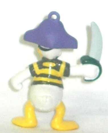 Mickey and friends - Sega PVC Figure - Donald as a pirate