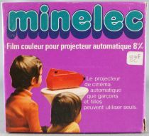 Mickey and Friends - Super 8 Movie Color - Minelec / Cinema (Meccano France) - Donald, the Bee and the Honey (ref.43209)