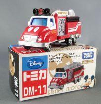 Mickey and friends - Takara Tomy DM-11 Die-cast Vehicle - Mickey\'\'s Firetruck Disney Motors Works Div.