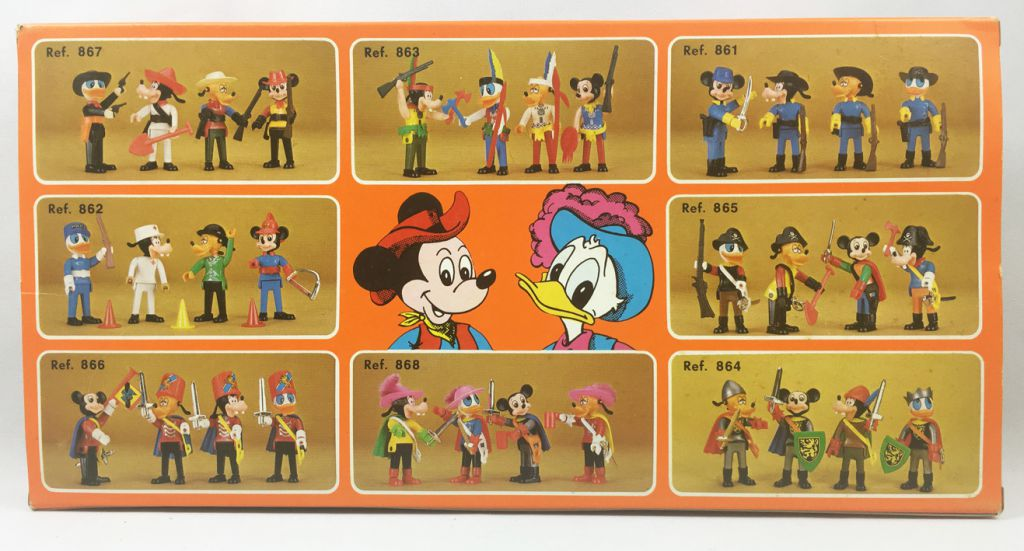 Mickey and friends - Zooland Airgam Boys Ref. 863 - Indian Mickey, Pluto, Goofy & Donald