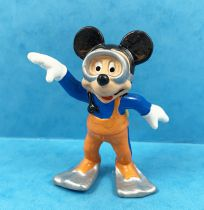 Mickey et ses amis - Figurine PVC Bully - Mickey Plongeur