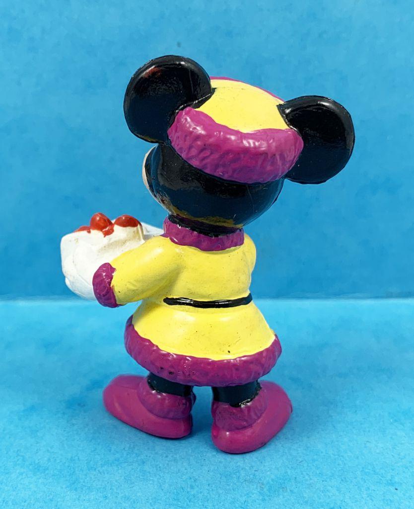 Mickey et ses amis - Figurine PVC Bully - Minnie et le Cadeau de Noël